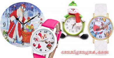 relojes de navidad baratos - ofertas amazon